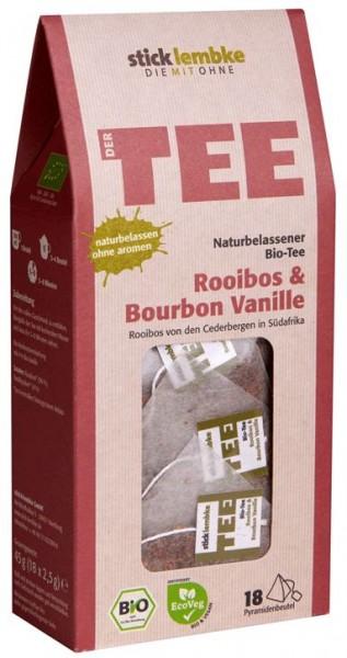 Rooibos & Bourbon Vanille