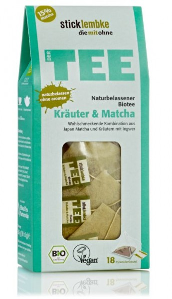 Kräuter & Matcha