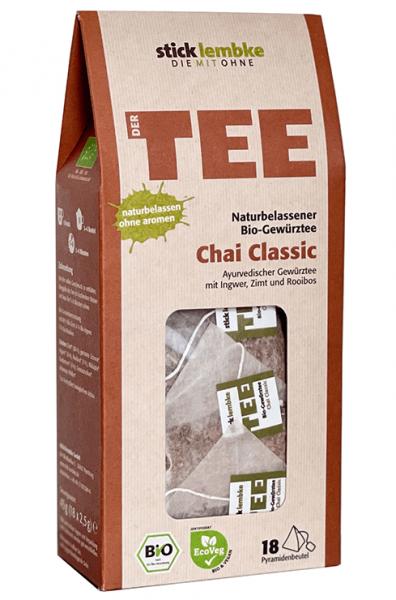Naturbelassener Bio-Gewürztee Chai Classic