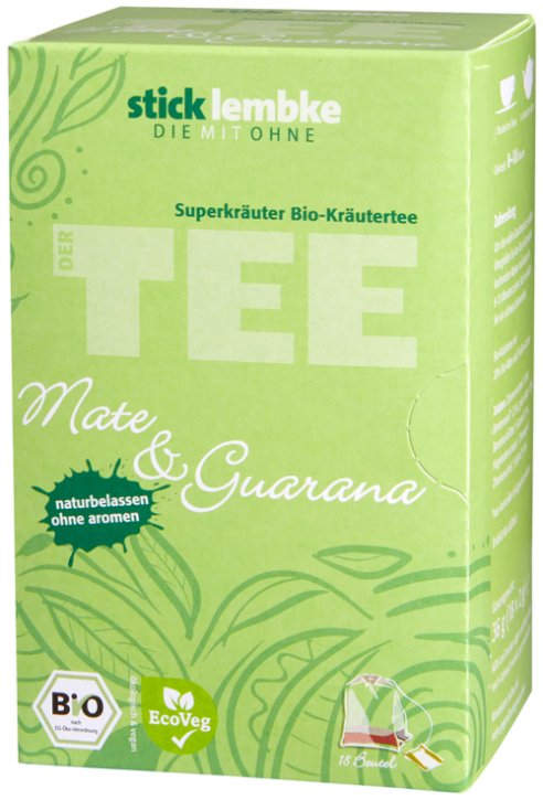 'Superkräuter' Mate & Guarana