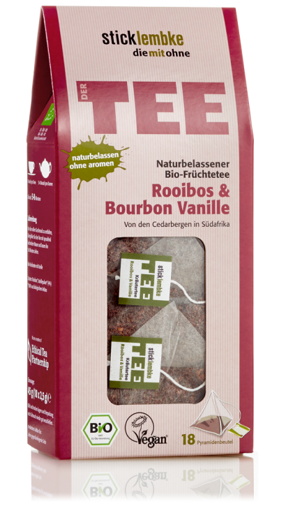 All-natural organic herbal infusion Rooibos & Bourbon Vanilla