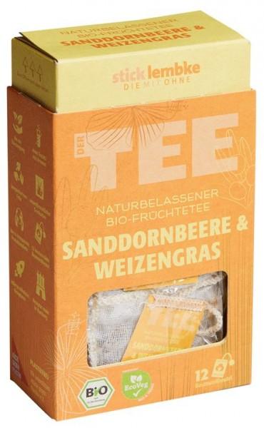 Sanddornbeere & Weizengras