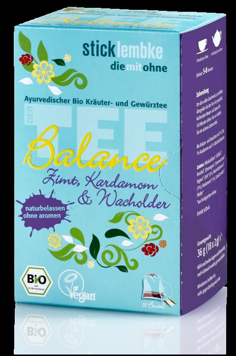 """Ayurvedischer Bio Kräuter- und Gewürztee """"Balance"""""""