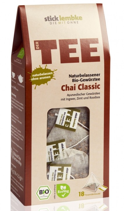 All-natural organic spice infusion Chai Classic