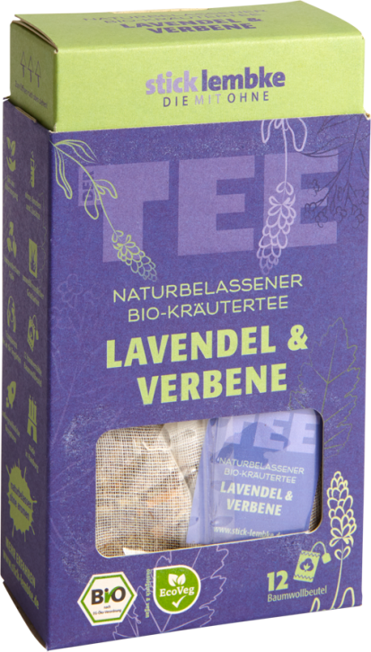 All-Natural Organic Herbal Infusion Lavender & Verbena