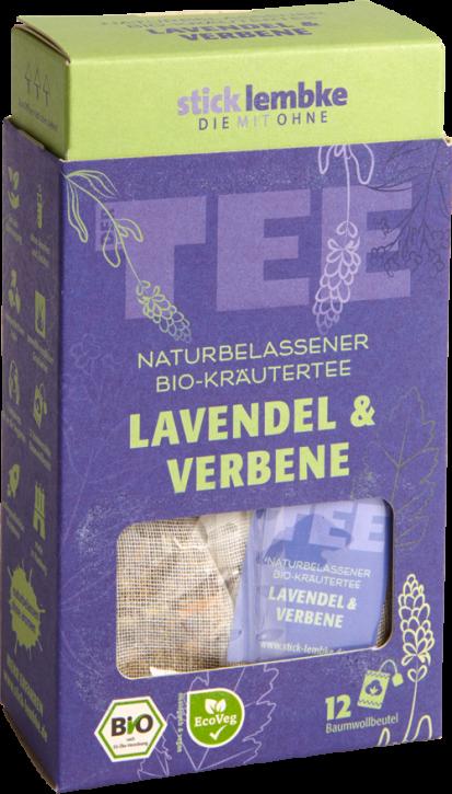 Naturbelassener Bio-Kräutertee Lavendel & Verbene