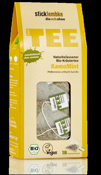 Naturbelassener Bio-Kräutertee KamoMint