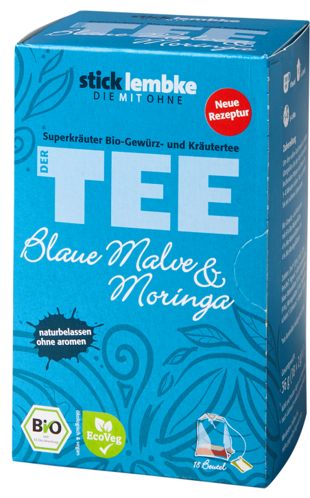 'SUPERHERBS' BLUE MALLOW FLOWER & MORINGA