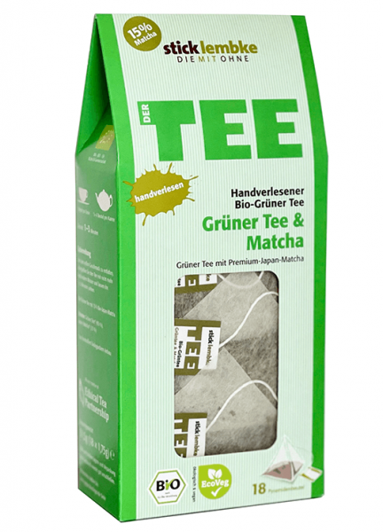 Bio-Grüner Tee & Matcha