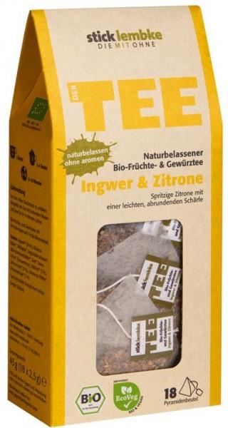 Ingwer & Zitrone