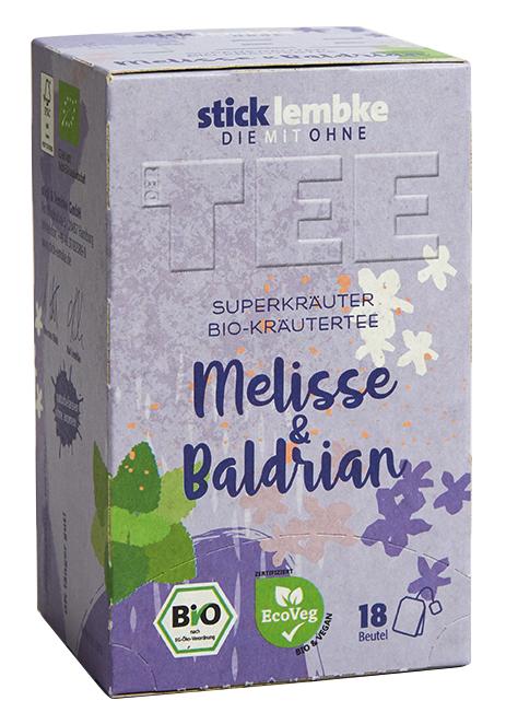 'Superkräuter' Bio-Kräutertee Melisse & Baldrian