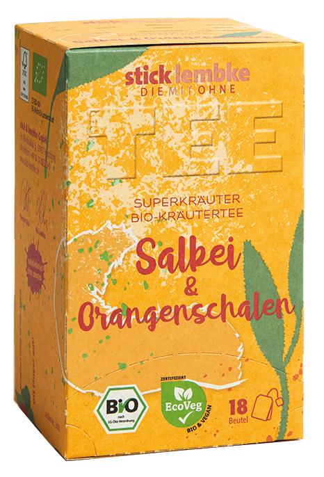 'Superkräuter' Bio-Kräutertee Salbei & Orangenschalen